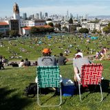 As triple-digit temperatures hit Bay Area, residents bask outdoors