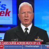 "Trump's coronavirus testing czar: Lockdowns in hotspots ""should be on the table"""